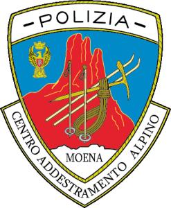Scudetto - Centro Add Alpino Moena - Vettoriale X crest